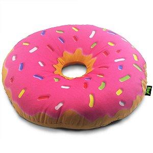 Almofada Rosquinha Donut - morango