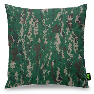 Almofada Camuflada Digital Ambiental