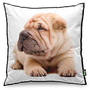 Almofada Love Dogs Black Edition - Shar Pei