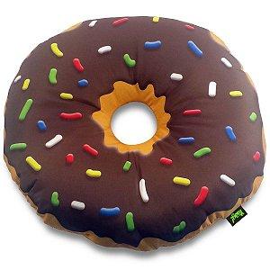 Almofada Rosquinha Donut - chocolate
