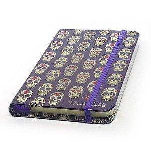 Caderneta de Anotação Frida Kahlo Caveira Mexicana