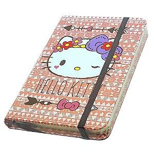 Caderneta de Anotação Hello Kitty Purple Lace