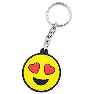 Chaveiro Emoticon - Emoji Amor