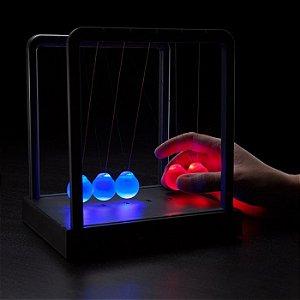 Pendulo de Newton com LED Neon
