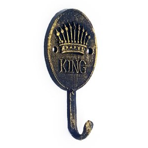 Cabideiro Rústico King Crown