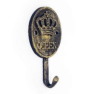 Cabideiro Rústico Queen Crown