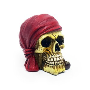 Mini Caveira Red Scarf