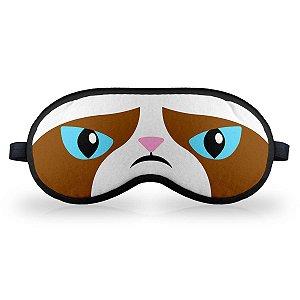 Máscara de Dormir em neoprene - MEME Grumpy Cat