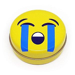 Latinha Emoticon - Emoji Chorando