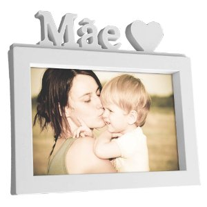 Porta Retrato 15 x 10 Mãe S2 - branco