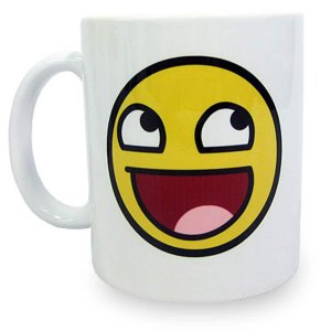 Caneca MEME Awesome Face