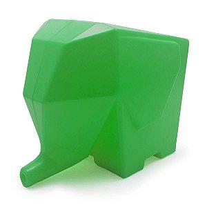 Porta Talheres e Escorredor Elefante - verde