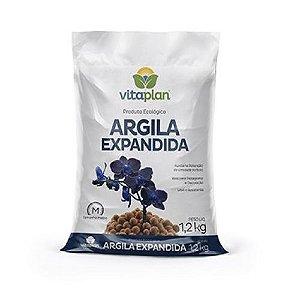 ARGILA EXPANDIDA MÉDIA 1,2 KG VITAPLAN