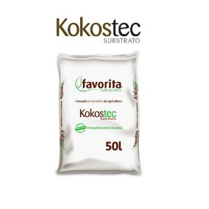 SUBSTRATO KOKOSTEC 04 (PÓ CÔCO) SACO 10 LITROS (FRACIONADO)