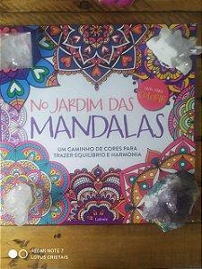No Jardim das Mandalas: Um Caminho de Cores Para Trazer Equilíbrio e Harmonia