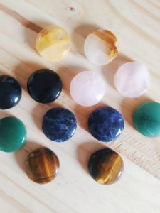 Umbigueiras de Pedra Natural – Grande - Quartzo Verde