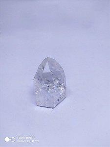 Ponta Gerador Quartzo Cristal / Hialino - Sextavado - De 50 a 150 Gramas