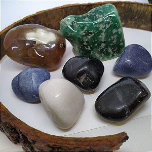 ATACADO - Pedras GRANDES Mistas Roladas Polidas 1KG  P/ Artesanato