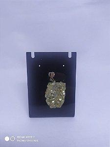 Pingente de Pirita - Pedra que Atrai a Prosperidade!