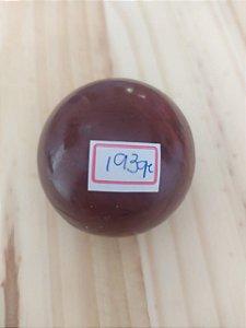Bola Esfera de Cristal em Jaspe Vermelho - 100% Natural - 193 gr