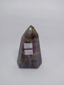 Ponta Sextavada de Super Seven 351 - Pedra Rara e descoberta recentemente - New Age.