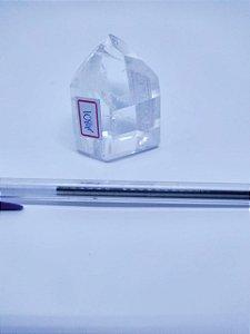Ponta De Cristal Gerador - Cristal Hialino / Cristal de Quartzo - Sextavado - 100PCento  Natural - 108 Gramas