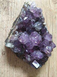 Drusa de Ametista 333 - Pedra Bruta Natural