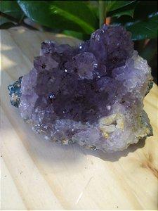 Drusa de Ametista 283 - Pedra Bruta Natural