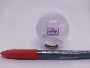 Bola Esfera de Quartzo Cristal - 100% Natural - 248 Gr