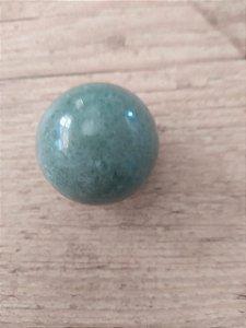 Bola Esfera de Cristal em Quartzo Verde - 100% Natural - 90 gr