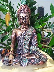 Buda Grande - Estatueta Meditação