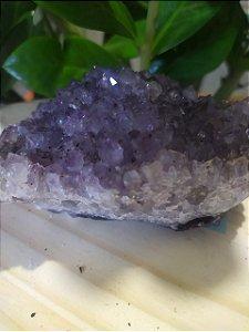 Drusa de Ametista 532 - Pedra Bruta Natural