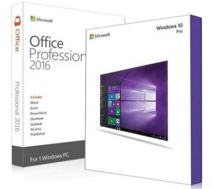 Windows 10 Pro + Office 2016 Pro (Download)
