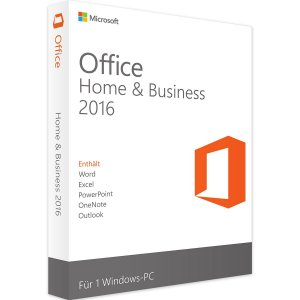 MICROSOFT OFFICE HOME & BUSINESS 2016 PARA WINDOWS – 32 / 64 BITS – ESD + NOTA FISCAL