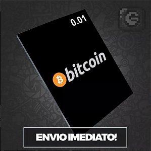 Bitcoin 0.01 Btc - Vendemos Múltiplos De 0,01 -