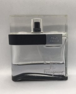 F by Ferragamo Black EDT by Salvatore Ferragamo - S/ CAIXA - Com 35 ml