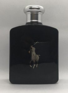Polo Black by Ralph Lauren - TESTER - Com 100 ml (Frasco de 125 ml)