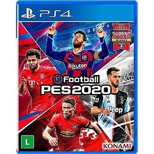 USADO: Game EFootball PES 2020 - PS4
