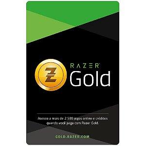 Gift Card Digital Razer Gold Pin Brasil