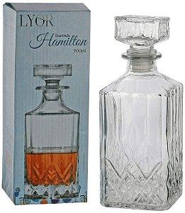 Garrafa para Whisky de Vidro Hamilton - 700 ml