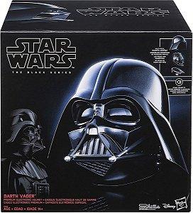 Star Wars Capacete Eletrônico Darth Vader The Black - Hasbro