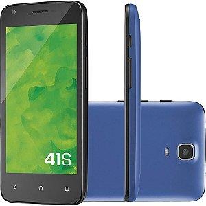 Smartphone Mirage Dual Chip Android Tela 4.5 - Azul Escuro