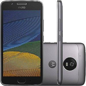 """Smartphone Moto G5 Dual Chip Android 7.0 Tela 5"""" 32GB 4G Câmera 13MP - Platinum"""