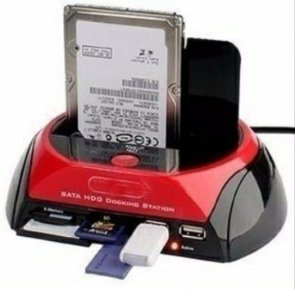 Dock Station 2 Hd Sata Ide 3,5 E 2,5 Externo Via Usb T37