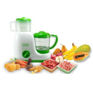 Máquina De Papinha Baby Cooking Vizio - Verde - 110v