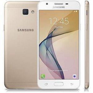 """Smartphone Samsung Galaxy J5 Prime Dual Chip Android 6.0 Tela 5"""" Quad-Core 1.4 GHz 32GB 4G Wi-Fi Câmera 13MP com Leitor de Digital - Dourado"""