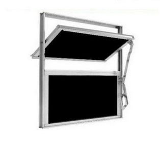 Janela Basculante Alumínio Vitrôs Banheiro 40x40cm