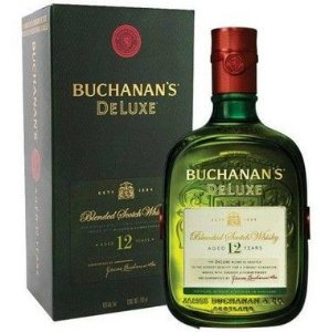 Whisky Buchanas Deluxe 12 anos - 1L
