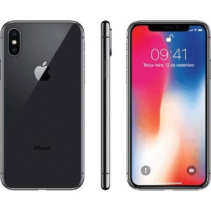 "iPhone X 64GB Tela 5.8"" - 4G Wi-Fi Câmera 12MP - Apple"