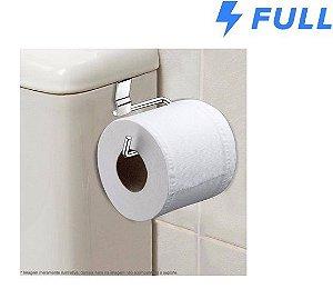 Suporte De Papel Higiênico Para Caixa De Descarga Aço Cromado